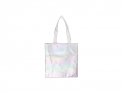 Gradient Shopping Bag (White,34*36cm)