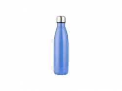 17oz/500ml Stainless Steel Cola Bottle (Blue)