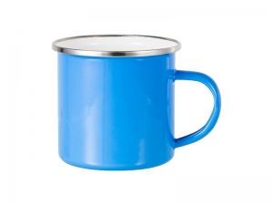 12oz Enamel Mug (Light Blue)