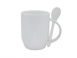 11oz Color Sublimation Spoon Mug