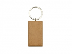 UV Printing Wooden Key Chain(Rect)