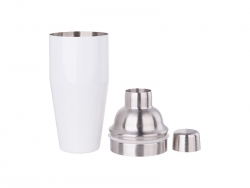 750ml Stainless Steel Cocktail Shaker (White)
