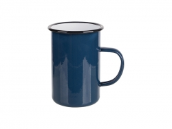 15oz/450ml Enamel Mug (Blue) MOQ:2000pcs
