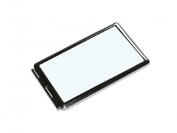 Rectangular Shaped Compact Mirror w/ Notebook(9.7*6.0cm)