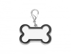 Sublimation Dog Tag (Black Edge, 3*4.5cm)