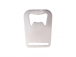 Stainless Steel Bottle Opener (Crown, 4.5*6cm)
