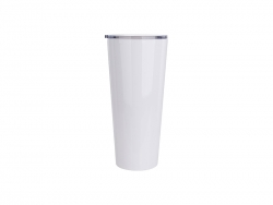 33oz/1000ml Stainless Steel Tumbler (White)