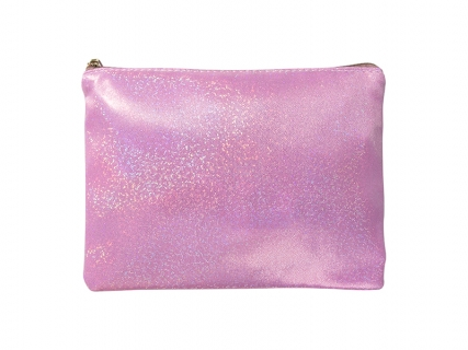 Pink Glitter Pencil/Makeup Case(16.5*23cm)