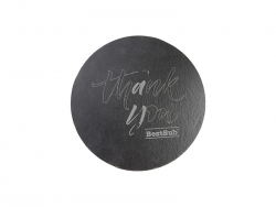 Round Slate Table Mat