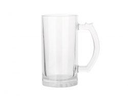 16oz Glass Beer Mug (Clear)