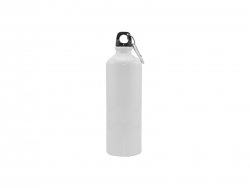 750ml Aluminium Bottle (White)