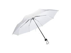 Three Folding Umbrella(White Cloth)