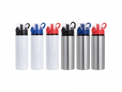 750ml Sublimation Blanks Alu Water Bottle with Color Cap