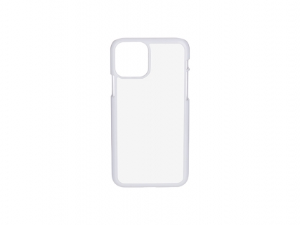 iPhone 11 Pro Cover (Plastic, White)