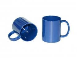 11oz Full Color Mug(Glossy, Middle Blue)