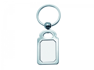 Octagon Rectangular Key Ring