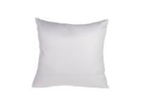 Glitter Square Shape Pillow Cover (40*40cm,White)