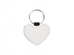 PU Leather Key Chain (Heart)