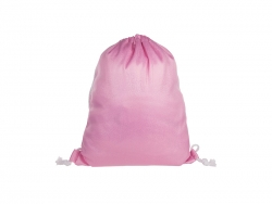 Glitter Drawstring Backpack (Pink)