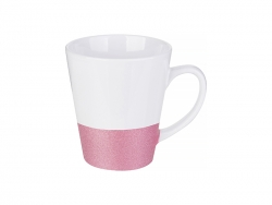 Caneca Base Colorida 12oz (Rosa)