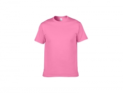 Cotton T-Shirt-Medium Pink