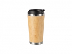 420ml/14oz Bamboo Thermal Tumbler   MOQ: 1000pcs