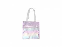 Gradient Shopping Bag (Light Purple, 34*36cm)