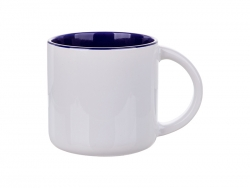 Sublimation 14oz Two-Tone Color Mug (Dark Blue)