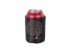 PU Can Cooler (Black) MOQ: 500