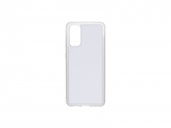 Samsung S20 Cover (Rubber, Clear)