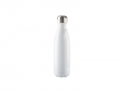 17oz Stainless Steel Coka Shaped Bottle(White)