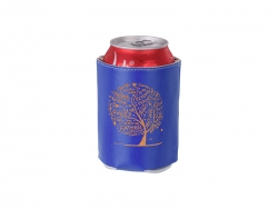 PU Can Cooler (Dark Blue) MOQ: 500