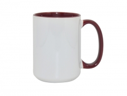 15oz Inner Rim Color - Maroon