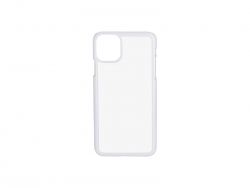 iPhone 11 Pro Max Cover (Plastic, White)