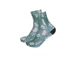 Sublimation Adult Crew Socks (8.8*30.5)