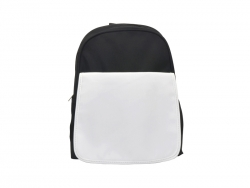 Sublimation Black Kids School Bag