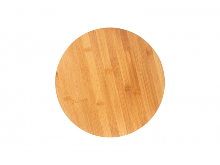 Round Bamboo Cutting Board  MOQ:1000pcs