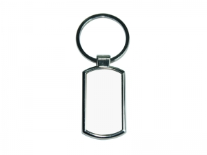 Round Corner Square Key Ring
