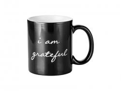 11oz Engraving Color Changing Mug (Grateful Motto)