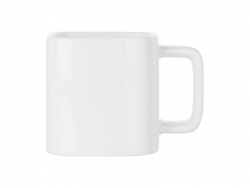 11oz Square White Mug