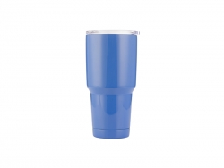 30oz Stainless Steel Tumbler (Blue)