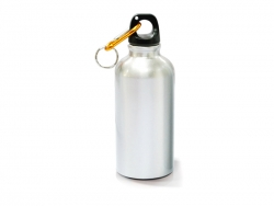 500ml Aluminium Water Bottle  (Silver)
