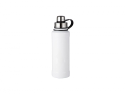 28OZ/850ml Sublimation Stainless Steel Bottle (White)