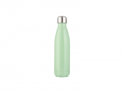 17oz/500ml Stainless Steel Cola Bottle (Green)