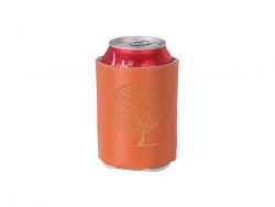 PU Can Cooler (Orange) MOQ: 500