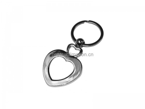 Heart Shaped Key Ring YA70