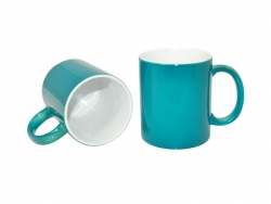 11oz Changing Color Mugs(green)