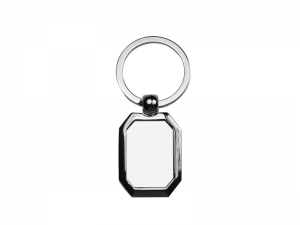 Octagon Shaped Key Ring
