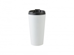 16oz Stainless Steel Tumbler (white)