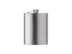 8oz/240ml Stainless Steel Hip Flask(Silver)